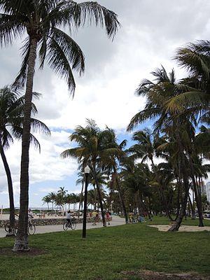 Lummus Park, Miami Beach - Image: Lummus Park Miami Beach Garden