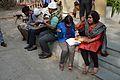 Lunch - Bengali Wikipedia 10th Anniversary Celebration - Jadavpur University - Kolkata 2015-01-09 2854.JPG