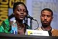 Lupita Nyong'o & Michael B. Jordan (35852137500).jpg