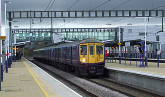 Luton Airport - First Capital Connect train at Luton Airport Parkway
