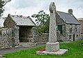 Lychgate, War memorial, Schoolhouse Constantine, Cornwall.jpg