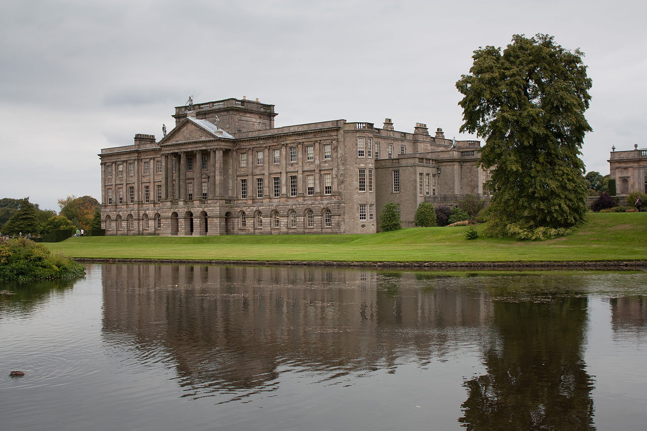 File:Lyme Park and lak...