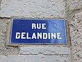 Lyon 2e - Rue Delandine - Plaque (mars 2019).jpg