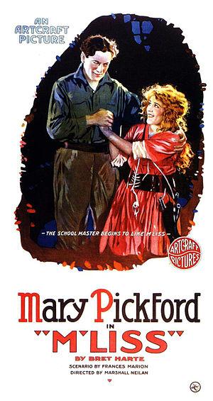 M'Liss (1918 film) - Film poster