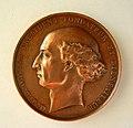 Médaille Mathieu ORFILA (1787-1853) médecin et chimiste français, d'origine espagnole. Graveur Jean-Baptiste Farochon (1812-1871) (1).JPG
