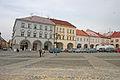 Měšťanské domy čp. 73 - 77, Valdštejnovo náměstí, Jičín.JPG