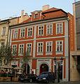 Městský dům Kolej krále Václava, Bazar (Staré Město), Praha 1, Ovocný trh 12, Staré Město.JPG