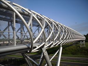 Heart of Scotland services - The 2008 pedestrian bridge