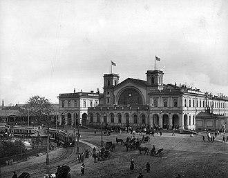 Baltiysky Railway station - Image: MB Tram 08