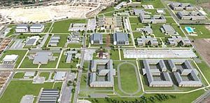 Medical Education and Training Campus - Image: METC Aerial view