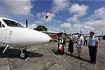 MINISTRO VALAKIVI ENTREGÓ MODERNA FLOTA DE 12 AERONAVES CANADIENSES TWIN OTTER DHC-6 SERIE 400 A LA FUERZA AÉREA DEL PERÚ (19403432198).jpg