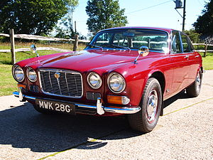 Jaguar XJ - Jaguar XJ6 Series 1 MWK 28G - The oldest Jaguar XJ in existence