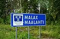 Maalahti municipal border sign 20190705.jpg