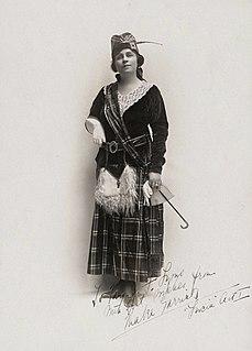Mabel Garrison American opera singer
