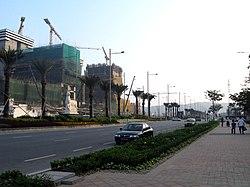 路氹金光大道(2007年12月)