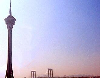 Tourism in Macau - Macau Tower