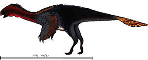 Machairasaurus - Life reconstruction.