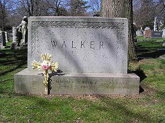 Madam C. J. Walker - The grave of Madam C. J. Walker