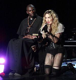 "Devil Pray - Madonna performing ""Devil Pray"" during the Rebel Heart Tour."