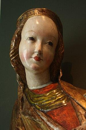 Beautiful Virgin Mary from Krużlowa - Image: Madonna z Krużlowej 3