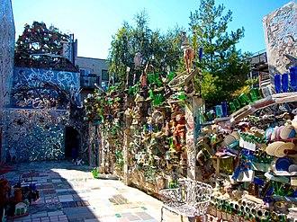 Isaiah Zagar - Part of Zagar's Magic Garden.
