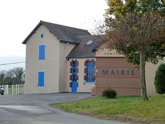 Lonçon - The town hall of Lonçon