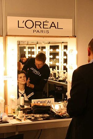 Cibeles Madrid Fashion Week - Backstage at Cibeles Madrid Fashion Week.
