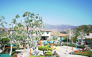 Malibu Country Mart - The Playground, Picnic, and Courtyard Areas