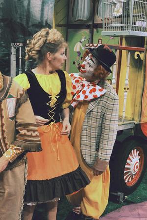 Pipo de Clown - Pipo de Clown (Cor Witschge) with his wife Mamaloe (Marijke Bakker)