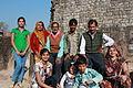 Mandu, Royal Enclave, Hindola Mahal, family (9841716665).jpg