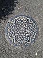 Manhole cover of Tokushima, Tokushima.jpg