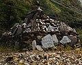 Mani stones in Tibet detail, from- 亚丁我们徒步来了-桂穿越 - panoramio (7) (cropped).jpg