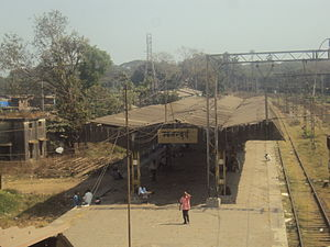 Mankhurd railway station - Old Mankhurd station.