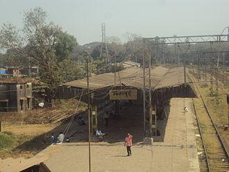 Mankhurd railway station - Old Mankhurd station.