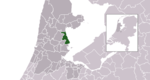 Location of Edam-Volendam