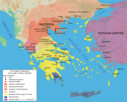 Map Macedonia 336 BC-en.svg
