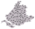 Map South Holland with numbered municipalities.png