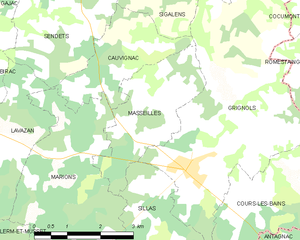 Map commune FR insee code 33276.png