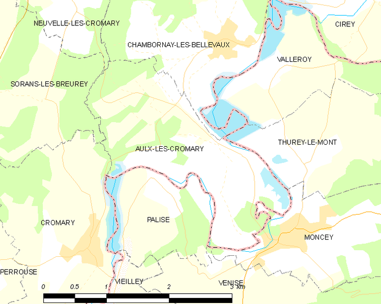 Fitxer:Map commune FR insee code 70036.png