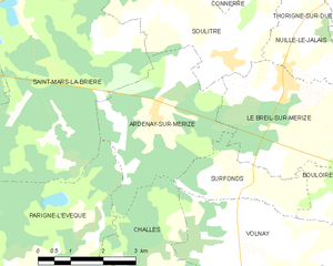 Map commune FR insee code 72007.png