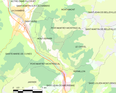 Map commune FR insee code 73203.png