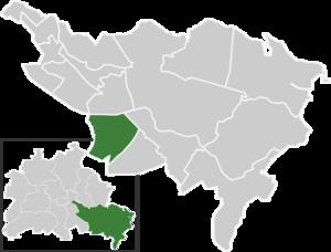 Altglienicke - Image: Map de be altglienicke