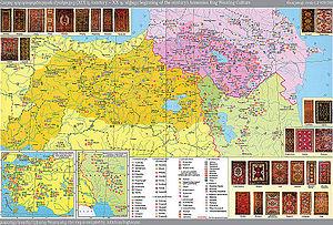 Armenian carpet - Armenian rug weaving centers, 19-20th centuries