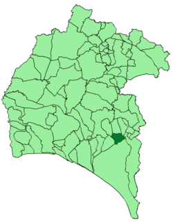 Location of Bollullos Par del Condado