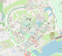 Map of Disneyland Shanghai.png