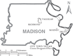Map of Madison Parish Louisiana With Municipal Labels.PNG