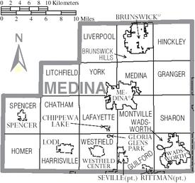 Medina County Ohio Wikipedia