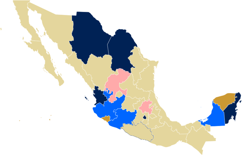 File:Map of Mexico, gay rights.png