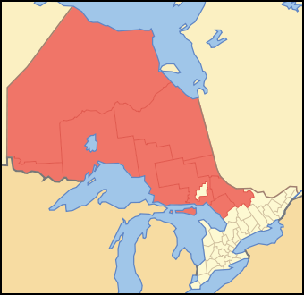 Districts of Ontario