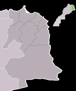 Oriental (Morocco) - Map oriental full